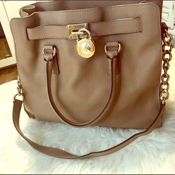 Michael Kors Handbags - Large Hamilton Tote